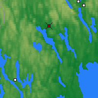 Nearby Forecast Locations - Arvika - Mapa