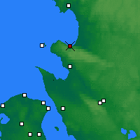Nearby Forecast Locations - Båstad - Mapa
