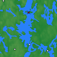 Nearby Forecast Locations - Luhanka Judinsalo - Mapa