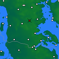 Nearby Forecast Locations - Vojens - Mapa