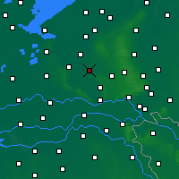 Nearby Forecast Locations - Barneveld - Mapa