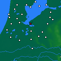Nearby Forecast Locations - Almere - Mapa