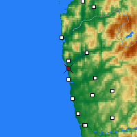 Nearby Forecast Locations - Viana do Castelo - Mapa