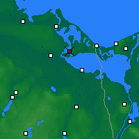Nearby Forecast Locations - Usedom - Mapa
