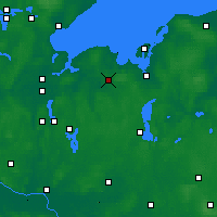 Nearby Forecast Locations - Grevesmühlen - Mapa