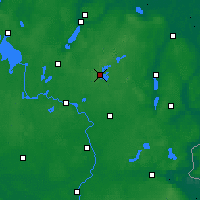 Nearby Forecast Locations - Feldberg - Mapa