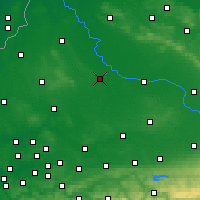 Nearby Forecast Locations - Münster - Mapa