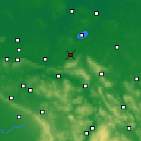 Nearby Forecast Locations - Stadthagen - Mapa
