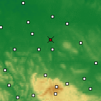 Nearby Forecast Locations - Brunsvique - Mapa