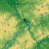 Nearby Forecast Locations - Neuwied - Mapa