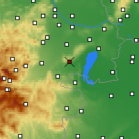 Nearby Forecast Locations - Eisenstadt - Mapa