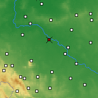 Nearby Forecast Locations - Breslávia - Mapa