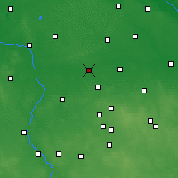 Nearby Forecast Locations - Łęczyca - Mapa