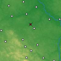 Nearby Forecast Locations - Piastów - Mapa