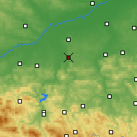 Nearby Forecast Locations - Tarnów - Mapa