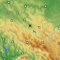 Nearby Forecast Locations - Lesko - Mapa