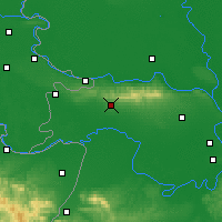 Nearby Forecast Locations - Sremska Mitrovica - Mapa