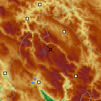 Nearby Forecast Locations - Žabljak - Mapa