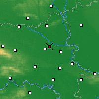 Nearby Forecast Locations - Osijek - Mapa