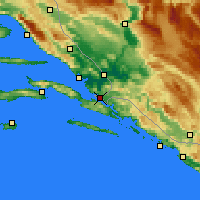 Nearby Forecast Locations - Neum - Mapa