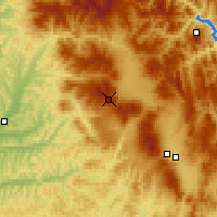 Nearby Forecast Locations - Luizi Calugara - Mapa