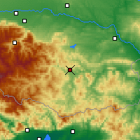 Nearby Forecast Locations - Kardzhali - Mapa