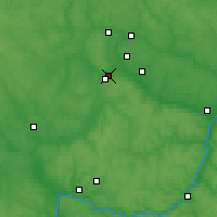 Nearby Forecast Locations - Maloyaroslavets - Mapa