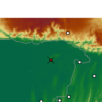 Nearby Forecast Locations - Sylhet - Mapa