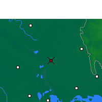 Nearby Forecast Locations - Chandpur Sadar - Mapa
