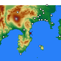 Nearby Forecast Locations - Ajiro - Mapa
