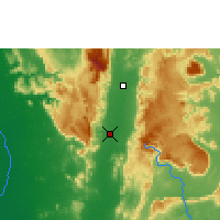 Nearby Forecast Locations - Phetchabun - Mapa