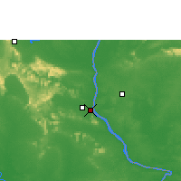 Nearby Forecast Locations - Mukdahan - Mapa