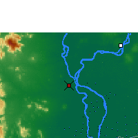 Nearby Forecast Locations - Phnom Penh - Mapa