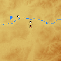 Nearby Forecast Locations - Ewenk. Zizhiqi - Mapa
