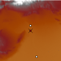 Nearby Forecast Locations - Aksu - Mapa