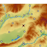 Nearby Forecast Locations - Wenxi - Mapa