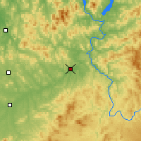 Nearby Forecast Locations - Huadian - Mapa