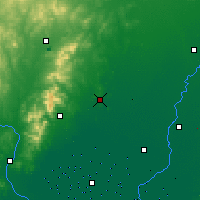 Nearby Forecast Locations - Heishan - Mapa