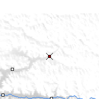 Nearby Forecast Locations - Kunggar - Mapa