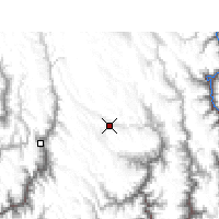 Nearby Forecast Locations - Daocheng - Mapa
