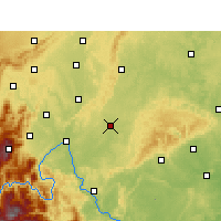 Nearby Forecast Locations - Jingyan - Mapa