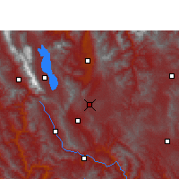 Nearby Forecast Locations - Xiangyun - Mapa