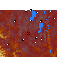 Nearby Forecast Locations - Yuxi - Mapa