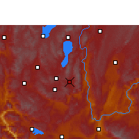 Nearby Forecast Locations - Huaning - Mapa