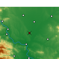 Nearby Forecast Locations - Lyanyi - Mapa