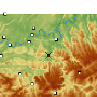 Nearby Forecast Locations - Chishui - Mapa