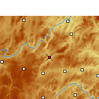 Nearby Forecast Locations - Yu  qing - Mapa