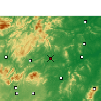Nearby Forecast Locations - Loudi - Mapa