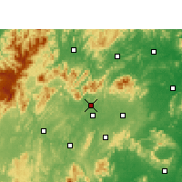 Nearby Forecast Locations - Xinshao - Mapa