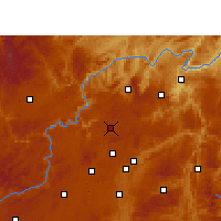Nearby Forecast Locations - Xiuwen - Mapa